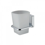 [product_id], Подстаканник стеклянный одинарный Wasser Kraft Leine К-5028, 4095, 920 руб., К-5028, Wasser Kraft, Подстаканник