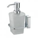 [product_id], Дозатор для жидкого мыла стеклянный Wasser Kraft Leine К-5099, 4097, 1 360 руб., К-5099, Wasser Kraft, Диспенсер жидкого мыла