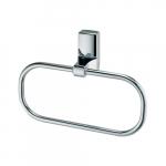 [product_id], Держатель полотенец кольцо Wasser Kraft Leine К-5060, 4103, 1 380 руб., К-5060, Wasser Kraft, Вешалка для полотенец