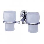 [product_id], Подстаканник двойной стеклянный Wasser Kraft Main K-9228D, 4124, 1 450 руб., K-9228D, Wasser Kraft, Подстаканник