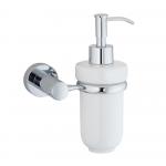[product_id], Дозатор для жидкого мыла Wasser Kraft Donau K-9499C, 3996, 1 420 руб., K-9499C, Wasser Kraft, Диспенсер жидкого мыла