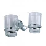 [product_id], Подстаканник двойной стеклянный Wasser Kraft Donau K-9428D, 4003, 1 450 руб., K-9428D, Wasser Kraft, Подстаканник