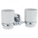 [product_id], Подстаканник двойной керамический Wasser Kraft Rhein K-6228DC, 4058, 1 490 руб., K-6228DC, Wasser Kraft, Подстаканник
