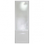 [product_id], Душевая шторка боковая на ванну 1-MarKа 70140 70х140 (белая, хром), 3256, 4 200 руб., хром, белая 70x140, 1-MarKa, Шторки для ванн