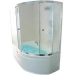 [product_id], Душевая шторка на ванну 1-MarKа 170105 170х105 (белая, хром), 3261, 13 700 руб., Diana, 1-MarKa, Шторки для ванн