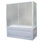 [product_id], Душевая шторка на ванну 1-MarKа 150140 150х140 (белая, хром), 3264, 7 800 руб., 150x140 белая, хром, 1-MarKa, Шторки для ванн