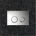 Смывная клавиша Geberit Sigma 20 115.778.KH.1 (рамка хром глянц./ кольцо хром мат./ клавиша хром глянц)