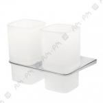 [product_id], Двойной стеклянный стакан Am - Pm Inspire A50343400 (хром), 8687, 3 440 руб., Am - Pm Inspire, Am - Pm, Стакан