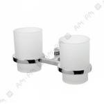 [product_id], Двойной стеклянный стакан Am - Pm Joy, A85343400 (хром), 8694, 1 010 руб., Am - Pm Joy, Am - Pm, Стакан