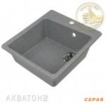 [product_id], Кухонная мойка Акватон Парма (серая), 8136, 4 149 руб., Парма, Акватон, Кухонные мойки