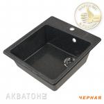 [product_id], Кухонная мойка Акватон Парма (чёрная), 8139, 4 149 руб., Парма, Акватон, Кухонные мойки