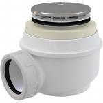 [product_id], Сифон для душевого поддона AlcaPlast A47CR-50 (хром), , 690 руб., AlcaPlast A47CR-50, AlcaPlast, Системы слива для ванной