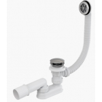 [product_id], Слив-перелив для ванной AlcaPlast A505KM (автомат, внешние части пластик), , 2 630 руб., AlcaPlast A505KM, AlcaPlast, Системы слива для ванной