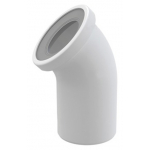 [product_id], Фановый отвод для унитаза AlcaPlast A90-45 45°, , 530 руб., AlcaPlast A90-45 45°, AlcaPlast, Сантехническая арматура