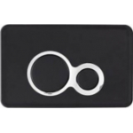 [product_id], Клавиша для инсталляции Cersanit Otto P-BU-OTTO-BL (чёрная), , 1 630 руб., Cersanit Otto, Cersanit, Инсталляции