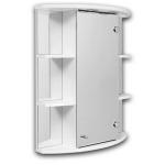 [product_id], Зеркальный шкаф Норта-аква Квадро 02 М, 6030, 4 800 руб., Норта-аква Квадро 02 М, Норта-аква, Шкафы навесные