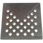 [product_id], Дизайн-решётка Viega Visign RS1 492281 (матовый хром), , 6 050 руб., Viega 492281, Viega, Трапы и лотки