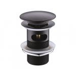 [product_id], Донный клапан Wasser Kraft Push-up A047 (тёмная бронза), , 1 570 руб., Wasser Kraft Push-up A047, Wasser Kraft, Системы слива для раковины