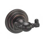 [product_id], Крючок двойной Wasser Kraft Isar K-7323 (темная бронза), , 920 руб., Wasser Kraft Isar K-7323, Wasser Kraft, Крючок для ванной