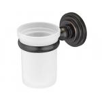 [product_id], Подстаканник стеклянный Wasser Kraft Isar K-7328 (темная бронза), , 1 130 руб., Wasser Kraft Isar K-7328, Wasser Kraft, Подстаканник