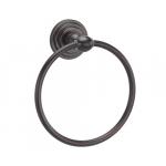 [product_id], Держатель полотенец кольцо Wasser Kraft Isar K-7360 (темная бронза), , 1 300 руб., Wasser Kraft Isar K-7360, Wasser Kraft, Вешалка для полотенец