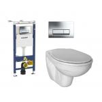 [product_id], Комплект инсталляция Geberit Duofix 458.125.21.1 и унитаз Ideal Standard Eurovit (Ecco New) W740601 (микролифт), , 20 080 руб., Ideal Standard Eurovit, Ideal Standard, Комплекты (инсталляция+унитаз)