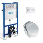 [product_id], Комплект инсталляция Roca PRO WC 89009000K и унитаз Ideal Standard Eurovit (Ecco New) W740601 (микролифт), , 17 430 руб., Ideal Standard Eurovit, Ideal Standard, Комплекты (инсталляция+унитаз)
