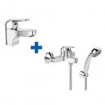 [product_id], Комплект смесителей Vidima Fine BA424AA, , 4 340 руб., Fine BA424AA, Vidima, Комплекты смесителей для ванной комнаты