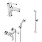 [product_id], Комплект смесителей Vidima Balance BA427AA, , 8 690 руб., Balance BA427AA, Vidima, Комплекты смесителей для ванной комнаты