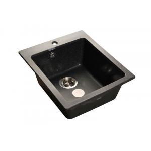 Мойка кухонная GranFest Practic (P-505 чер) черный