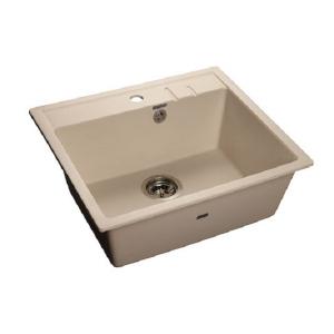 Мойка кухонная GranFest Quadro (Q-560 бел) белый