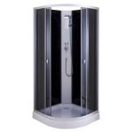 [product_id], Душевая кабина OSK A-03 80x80 черная, , 15 500 руб., OSK A-03 80x80, OSK, Кабины