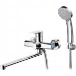 [product_id], Смеситель для ванны G-Lauf GOB7-A134 универсальный Хром, , 2 600 руб., GOB7-A134, G-Lauf, Для ванной