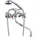 [product_id], Смеситель для ванны G-Lauf QMT7-A722 универсальный Хром, , 1 850 руб., QMT7-A722, G-Lauf, Для ванной