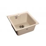 [product_id], Мойка кухонная GranFest Practic (P-420 бел) белый, , 3 600 руб., Practic (P-420 бел) белый, GranFest, Кухонные мойки