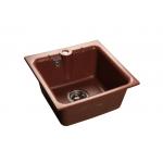 [product_id], Мойка кухонная GranFest Practic (P-420 кр.м) красный марс, , 3 600 руб., Practic (P-420 кр.м) красный марс, GranFest, Кухонные мойки