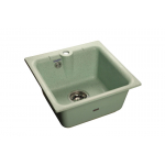 [product_id], Мойка кухонная GranFest Practic (P-420 сал) салатовый, , 3 600 руб., Practic (P-420 сал) салатовый, GranFest, Кухонные мойки
