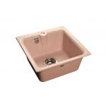 [product_id], Мойка кухонная GranFest Practic (P-420 св-роз) светло-розовый, , 3 600 руб., Practic (P-420 св-роз) светло-розовый, GranFest, Кухонные мойки