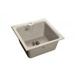 [product_id], Мойка кухонная GranFest Practic (P-420 сер) серый, , 3 600 руб., Practic (P-420 сер) серый, GranFest, Кухонные мойки