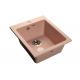 Мойка кухонная GranFest Practic (P-505 св-роз) светло-розовый