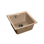 [product_id], Мойка кухонная GranFest Practic (P-420 топаз) топаз, , 3 600 руб., Practic (P-420, GranFest, Кухонные мойки