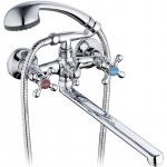 [product_id], Смеситель для ванны G-Lauf QFR7-C605 универсальный Хром, , 1 900 руб., QFR7-C605, G-Lauf, Для ванной