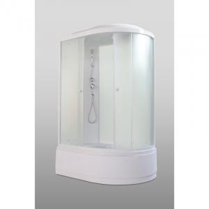Душевая кабина Parly Bianco Эконом EB122L 120х215 профиль Белый стекло матовое