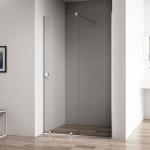 [product_id], Душевая дверь в нишу Cezares Stream STREAM-BF-1-110-C-Cr 110 профиль Хром стекло прозрачное, , 28 000 руб., Stream STREAM-BF-1-110-C-Cr 110, Cezares, Двери для душа