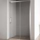 Душевая дверь Cezares Duet Soft BF-1 160 профиль Хром стекло прозрачное