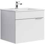 [product_id], Тумба для ванной Aqwella Бриг 60 подвесная (белый), , 4 200 руб., Бриг 60 подвесная (белый), Aqwella, Тумбы