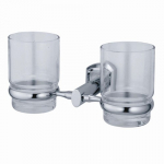 [product_id], Подстаканник двойной стеклянный Wasser Kraft Oder K-3028D, 4076, 1 640 руб., K-3028D, Wasser Kraft, Подстаканник