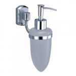 [product_id], Дозатор для жидкого мыла стеклянный Wasser Kraft Oder K-3099, 4079, 1 230 руб., K-3099, Wasser Kraft, Диспенсер жидкого мыла