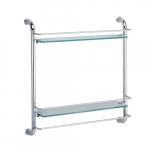 [product_id], Полка стеклянная двойная Wasser Kraft K-2022, 4159, 6 770 руб., K-2022, Wasser Kraft, Стеклянная полка