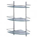 [product_id], Полка стеклянная тройная угловая Wasser Kraft K-3133, 4160, 6 470 руб., K-3133, Wasser Kraft, Стеклянная полка